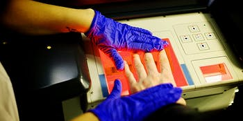 fingerprint scanners, fake fingerprint membranes, etc
