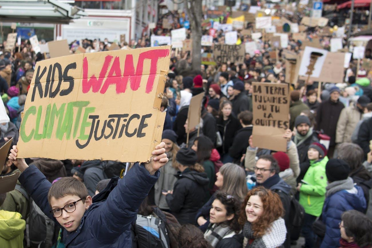 climate strike Switzerland