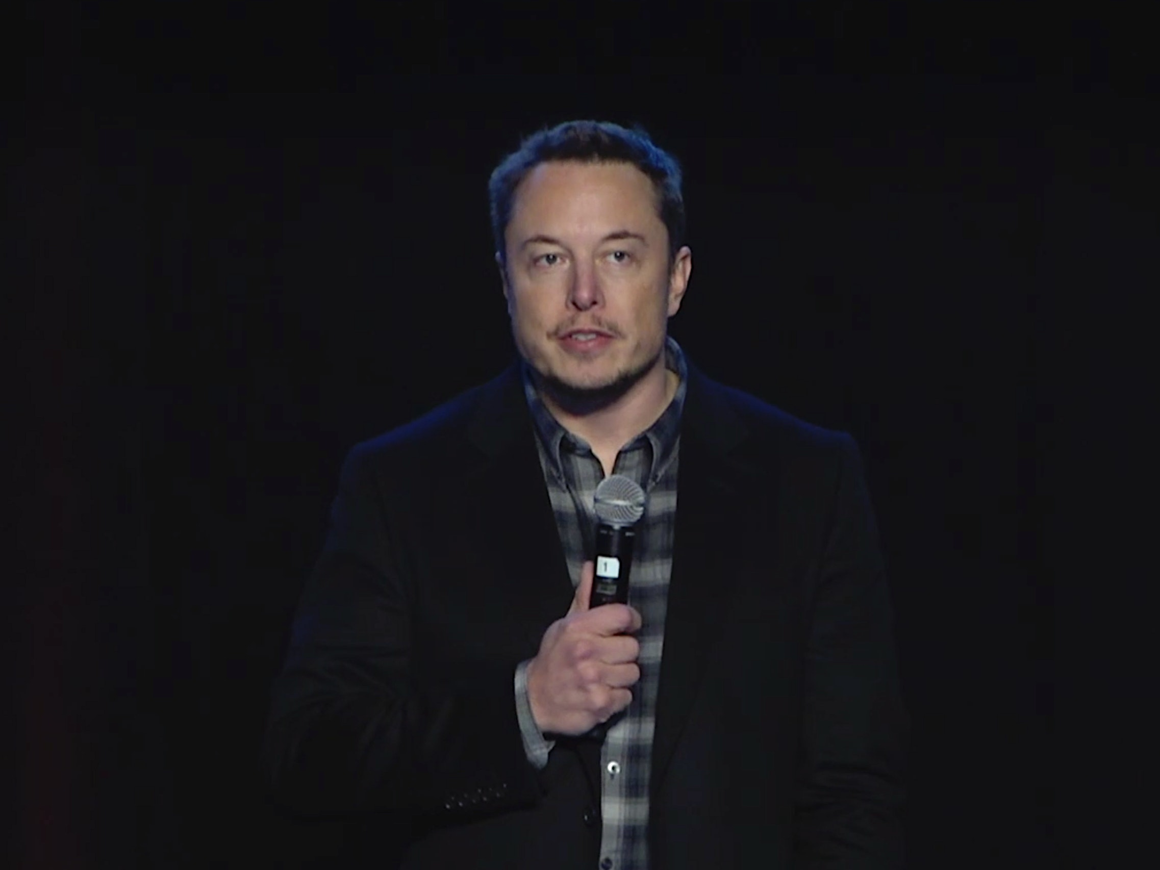 Elon during Thursday's post-vote Q&A session.
