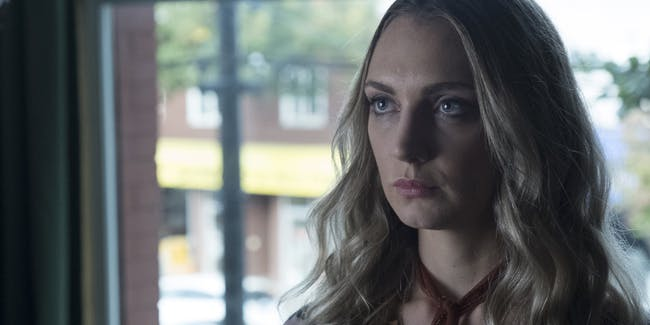 Actress Hannah Levien plays Victoria on 'The Magicians'.