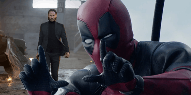 Jon Wick Deadpool 2