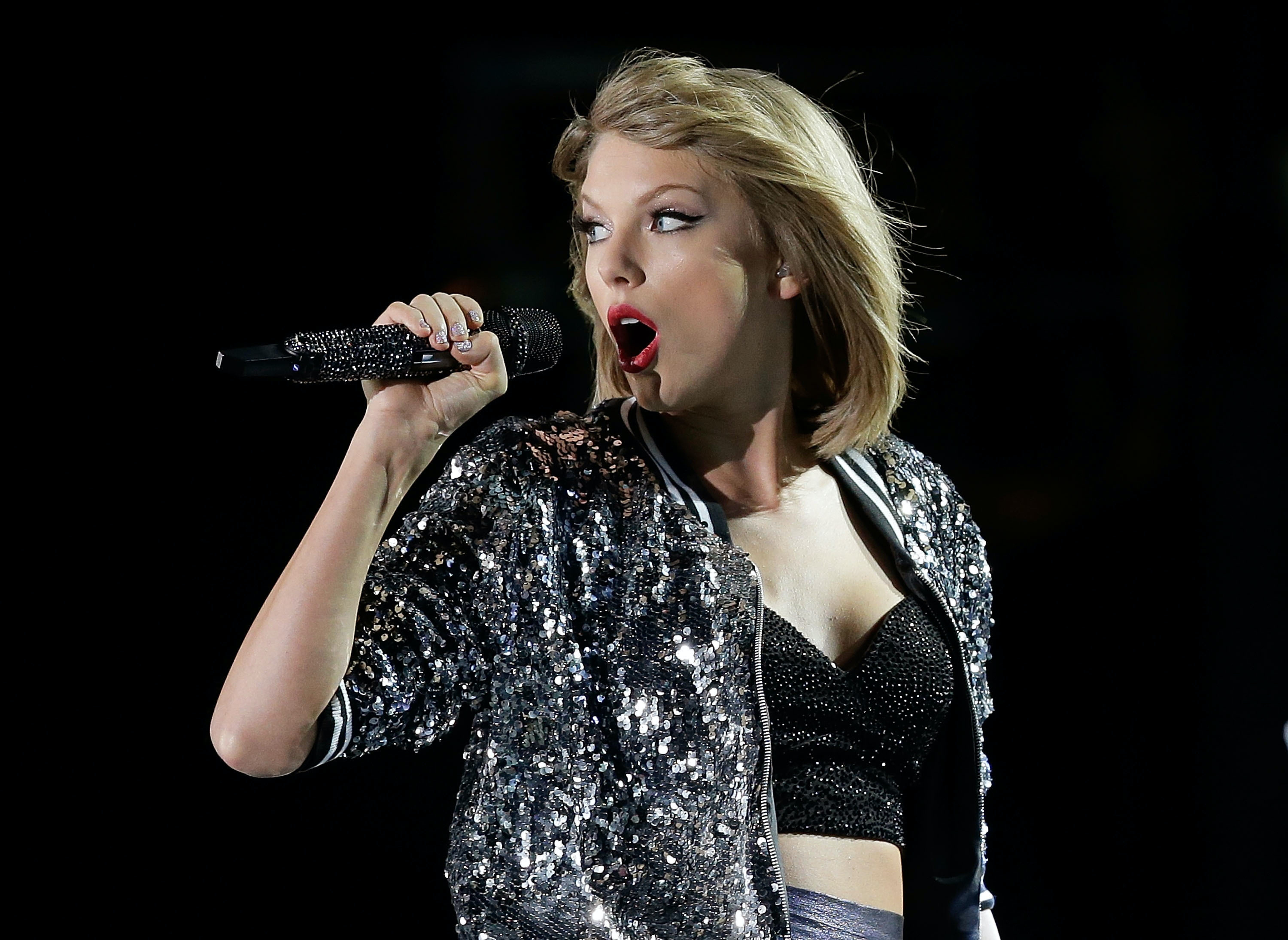 Apple Music created a concert video for Taylor Swift's '1989' tour in the past.