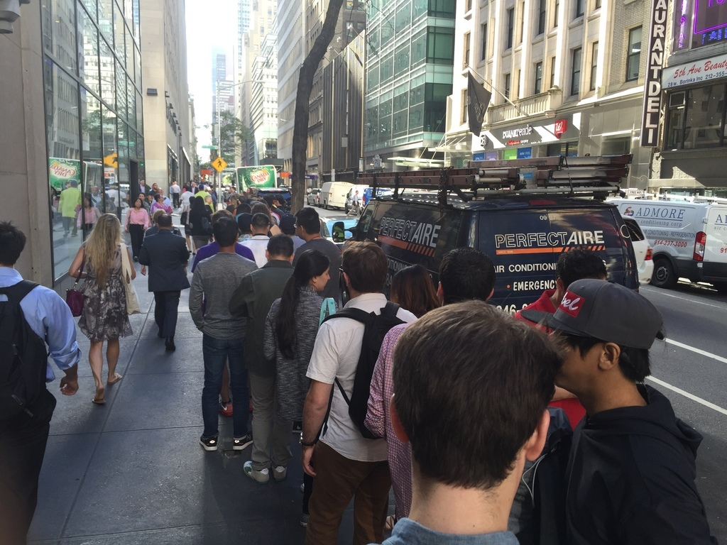 Line for Pokémon Go Plus