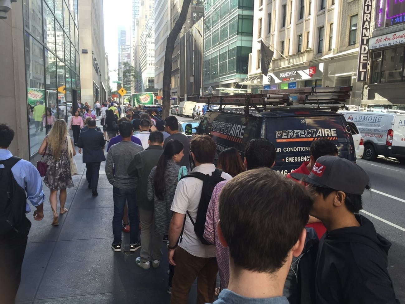 Line for Pokémon Go Plus