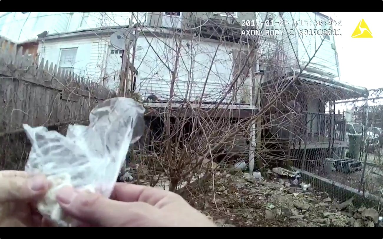 baltimore pd officer planting drugs