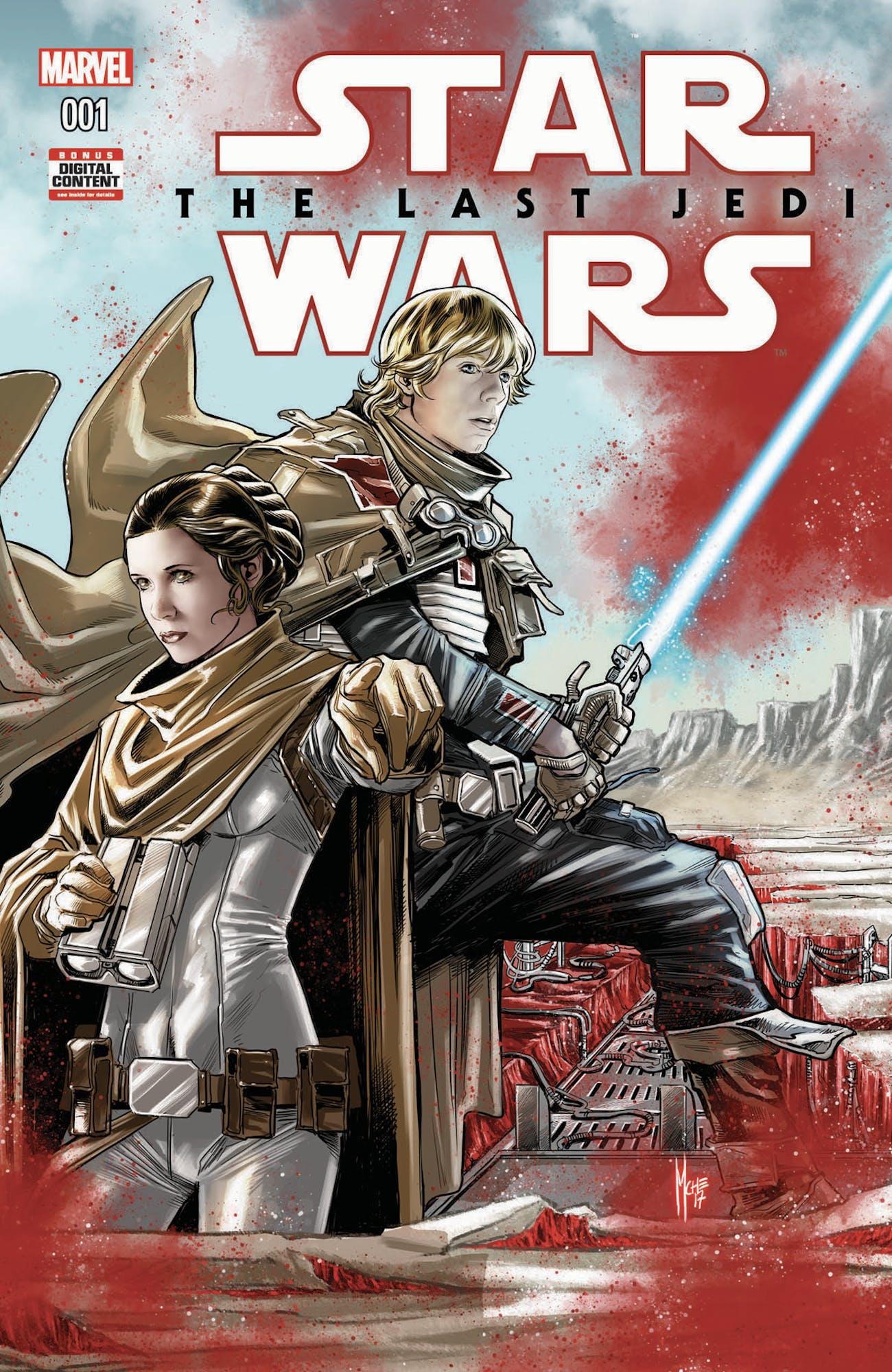 Star Wars Last Jedi Comic
