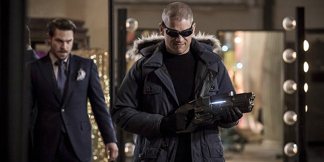 Captain Cold Mirror Master The Flash Season 3