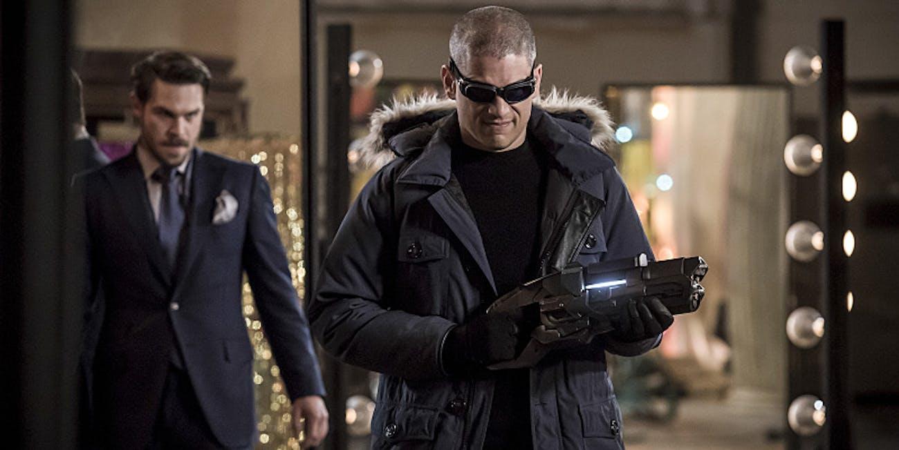Captain Cold Mirror Master The Flash Season 3