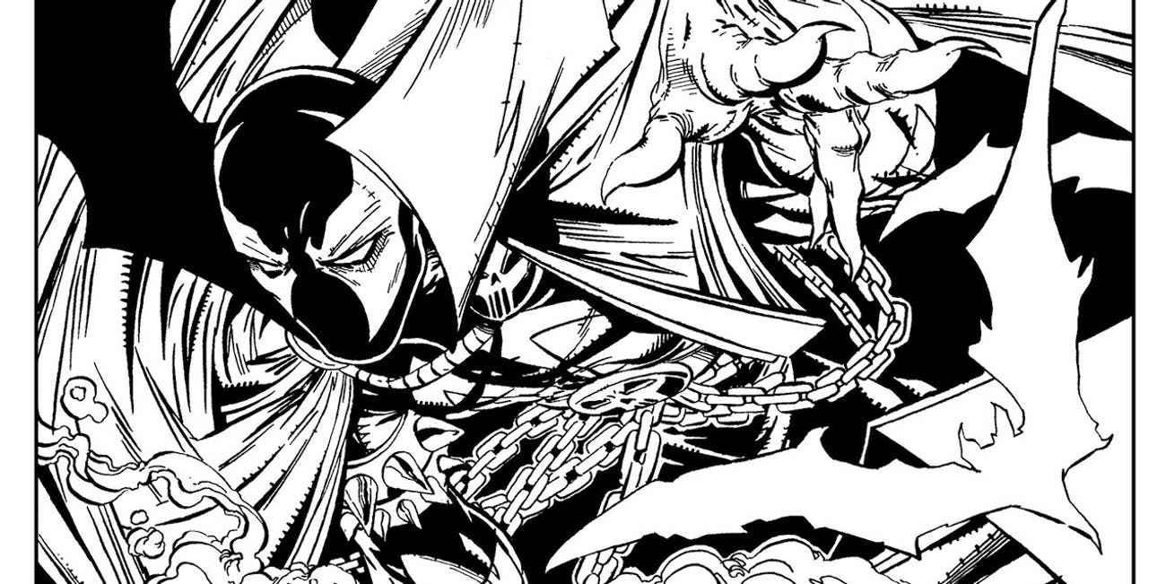 Image Comics \'Spawn\' Adult Coloring Book Is Accidental Man Child ...