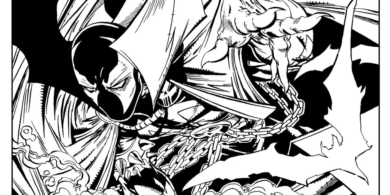 A Coloring Book For Spawn Superhero Who Killed Child Murderer In His Fifth Issue