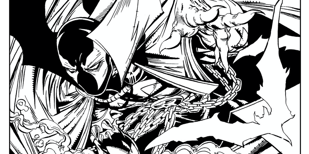 Image Comics Spawn Adult Coloring Book Is Accidental Man -8814