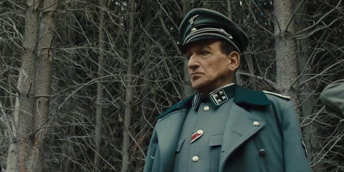 Sir Ben Kingsley as Adolf Eichmann in 'Operation Finale'.