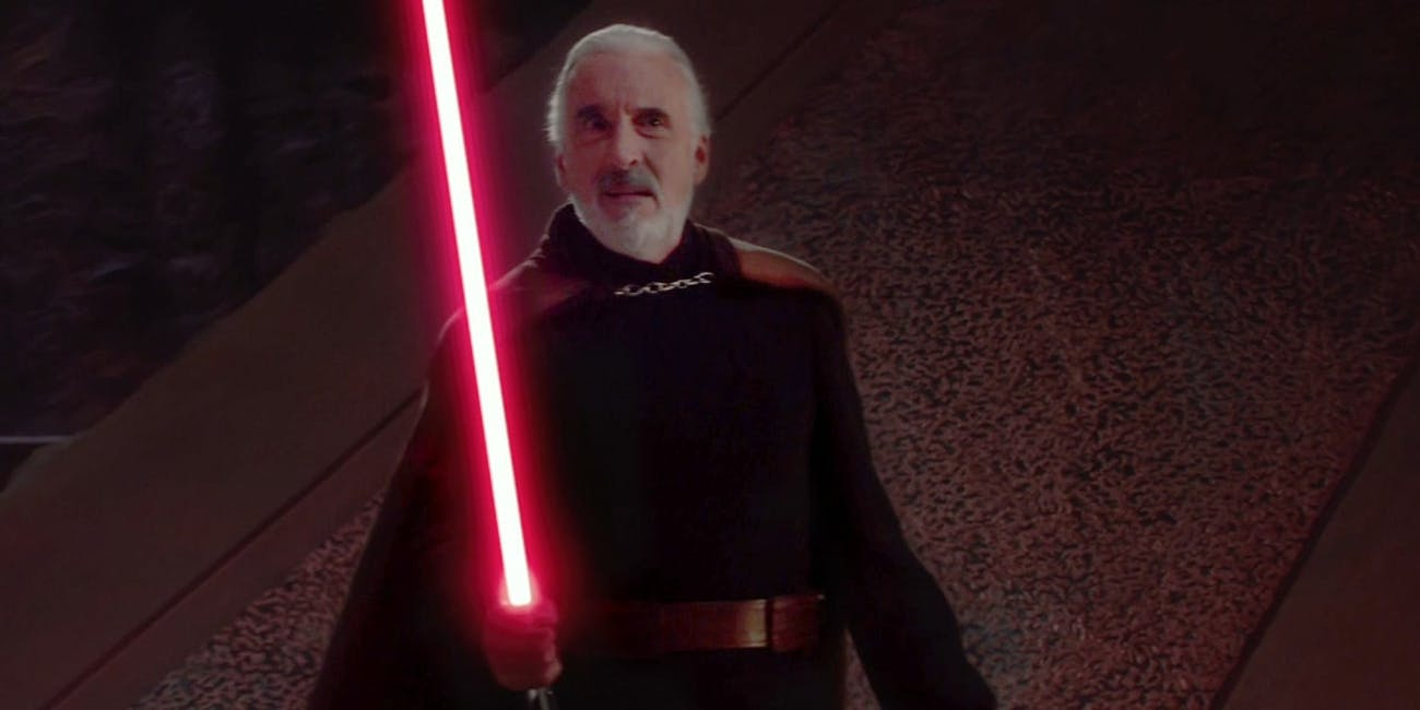 Count Dooku made some clones. He was also Yoda's pupil. He's also got an extra vowel in his name.