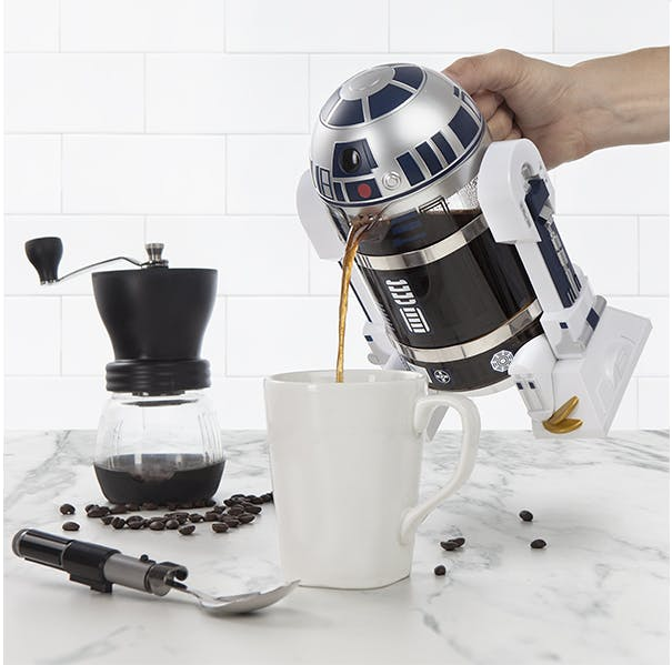 R2D2 thinkGeek Coffee Press