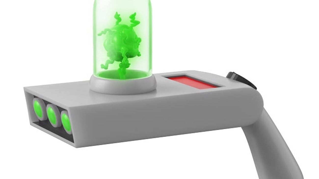 Any Rick worth their salt has their own portal gun?