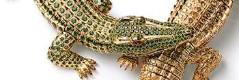 Cartier crocodiles