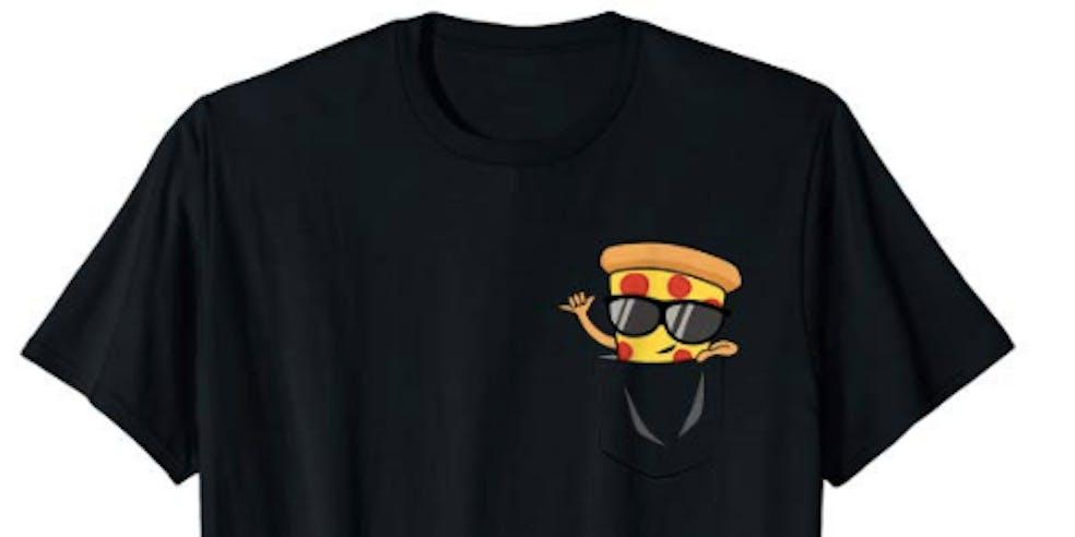 Pizza Pocket shirt