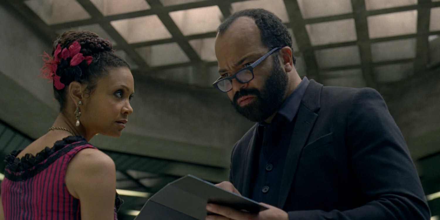 Thandie Newton and Jeffrey Wright
