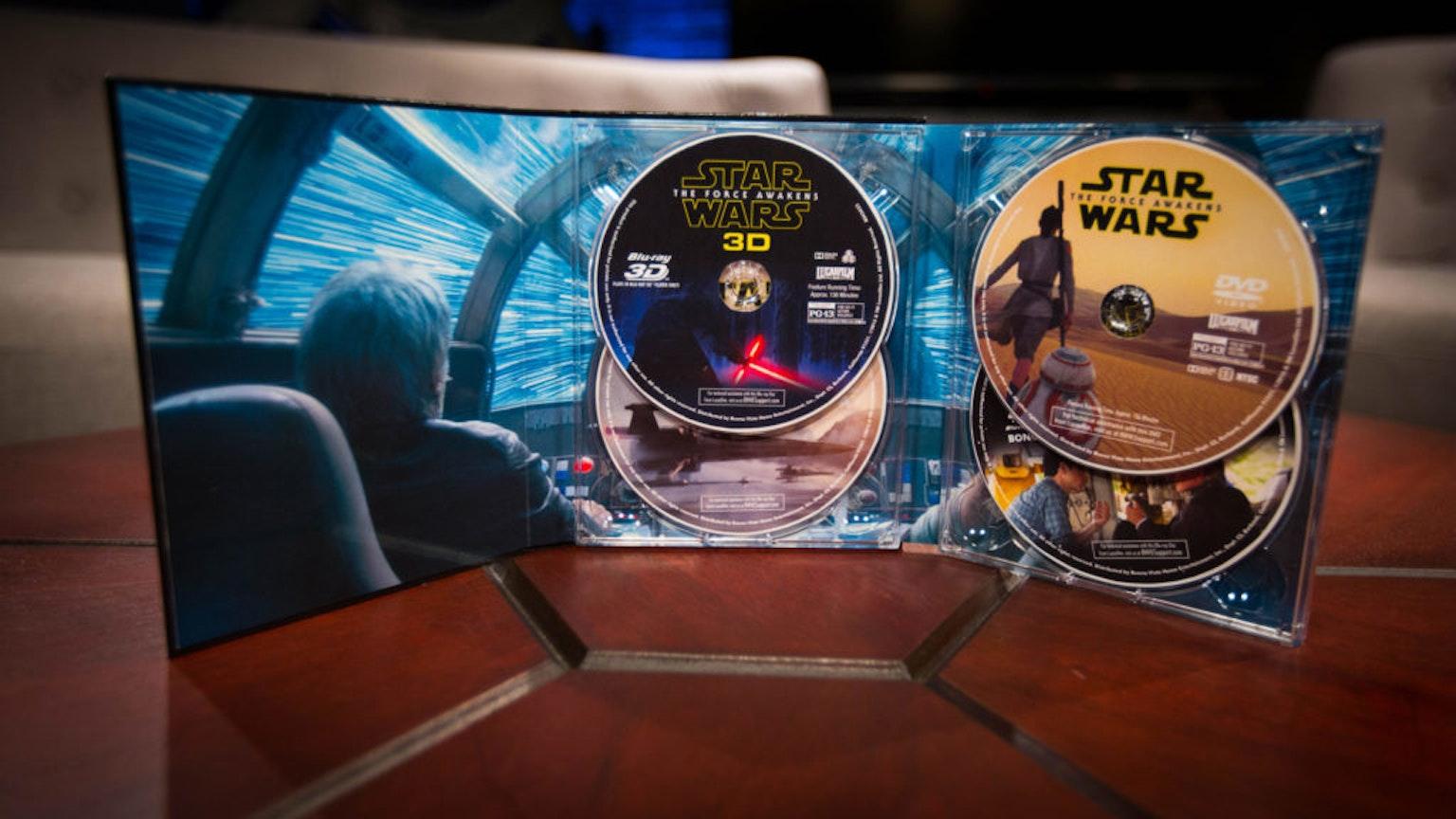 So many discs.