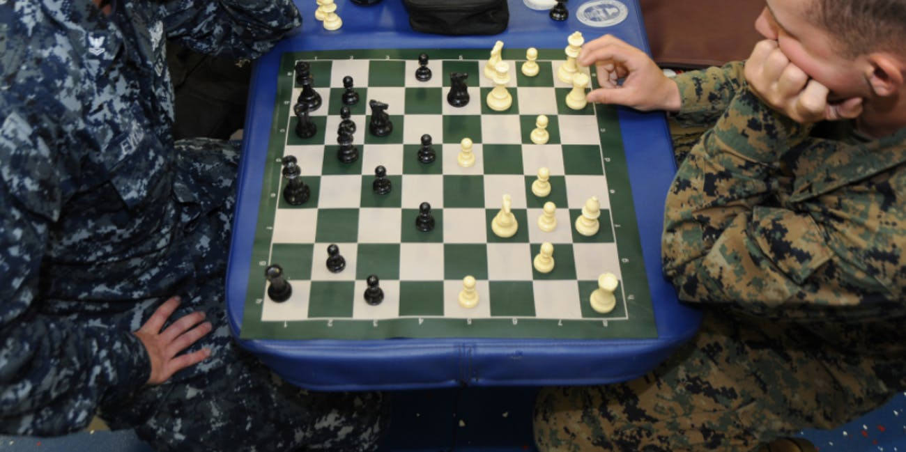 Certain drugs can help chess play.