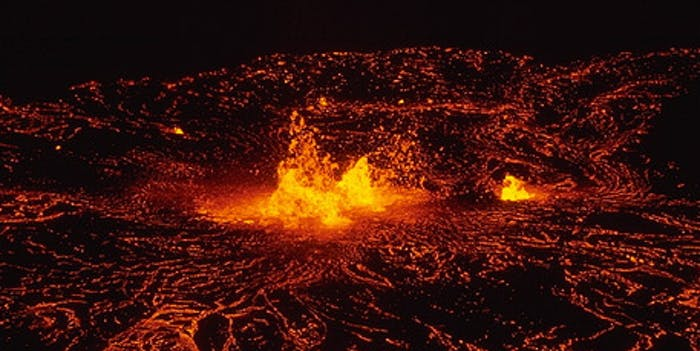 Hawaii Volcano Kilauea