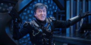 Jackie Chan Bleeding Steel