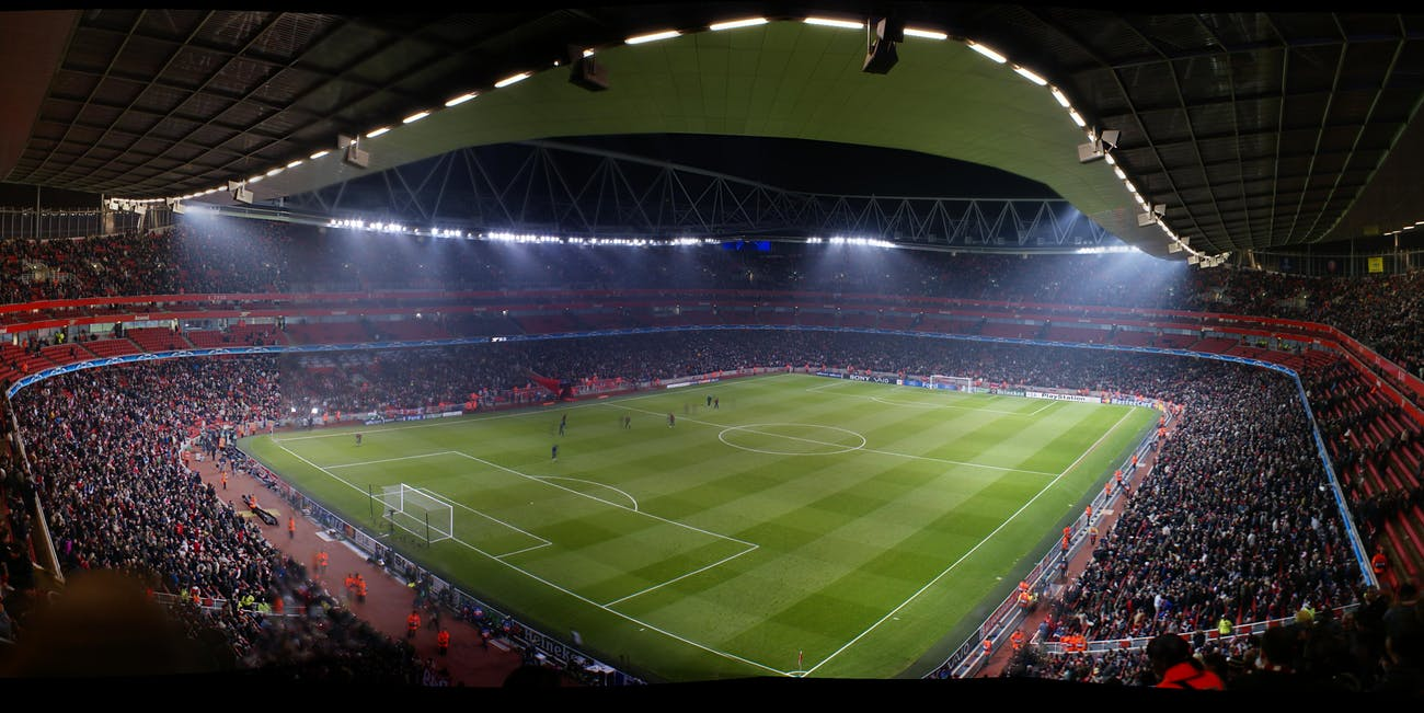 Emirates Stadium -- panorama