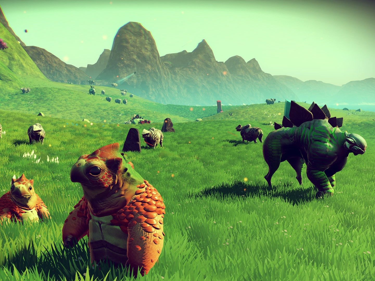 Yes, these little guys are procedurally generated too.