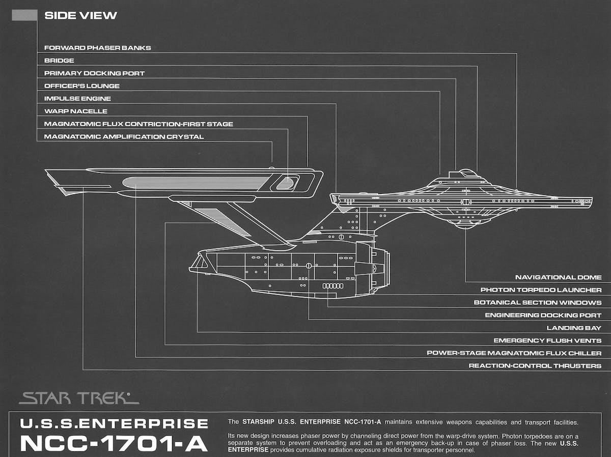 USS Enterprise blueprints