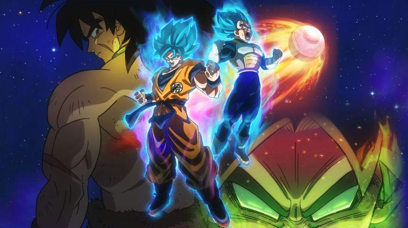 Dragon Ball Super Broly Movie Trailer Watch Broly Whomp Goku And