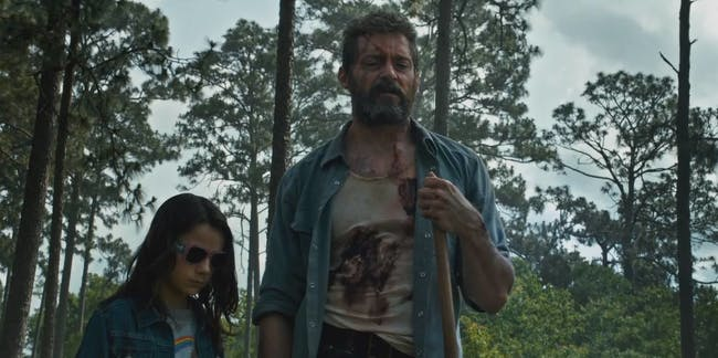 Scene from Fox's Logan Wolverine film