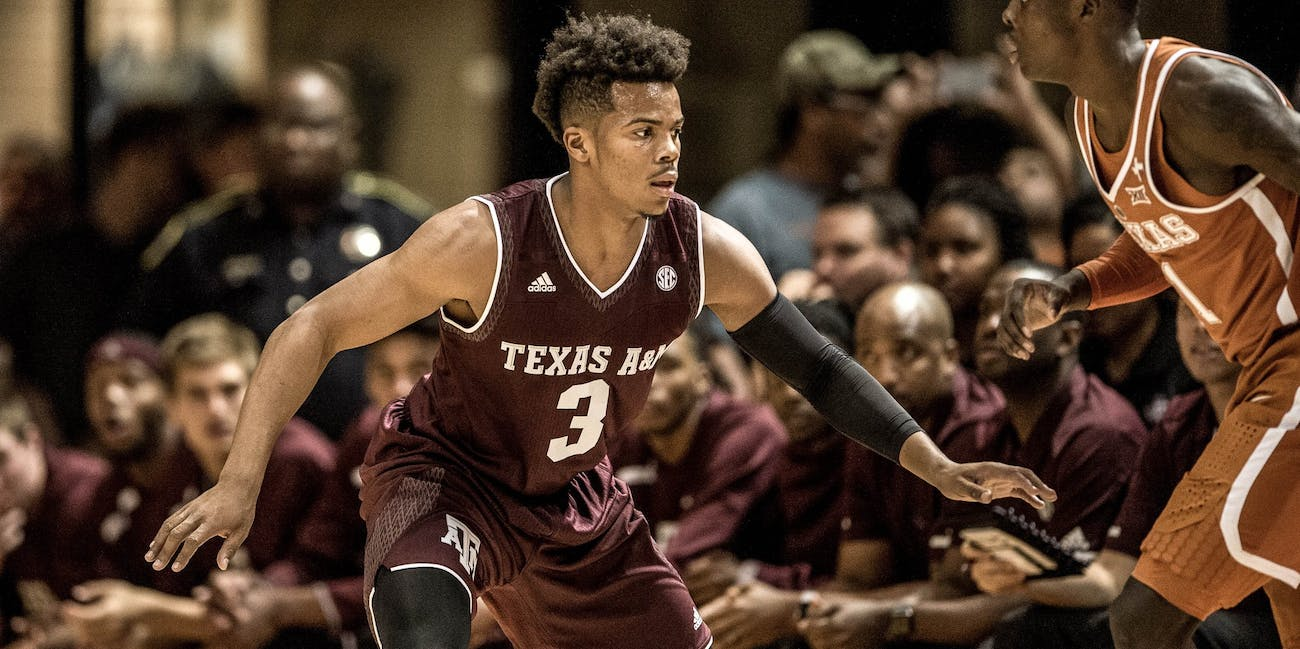 NCAA basketball Texas A&M