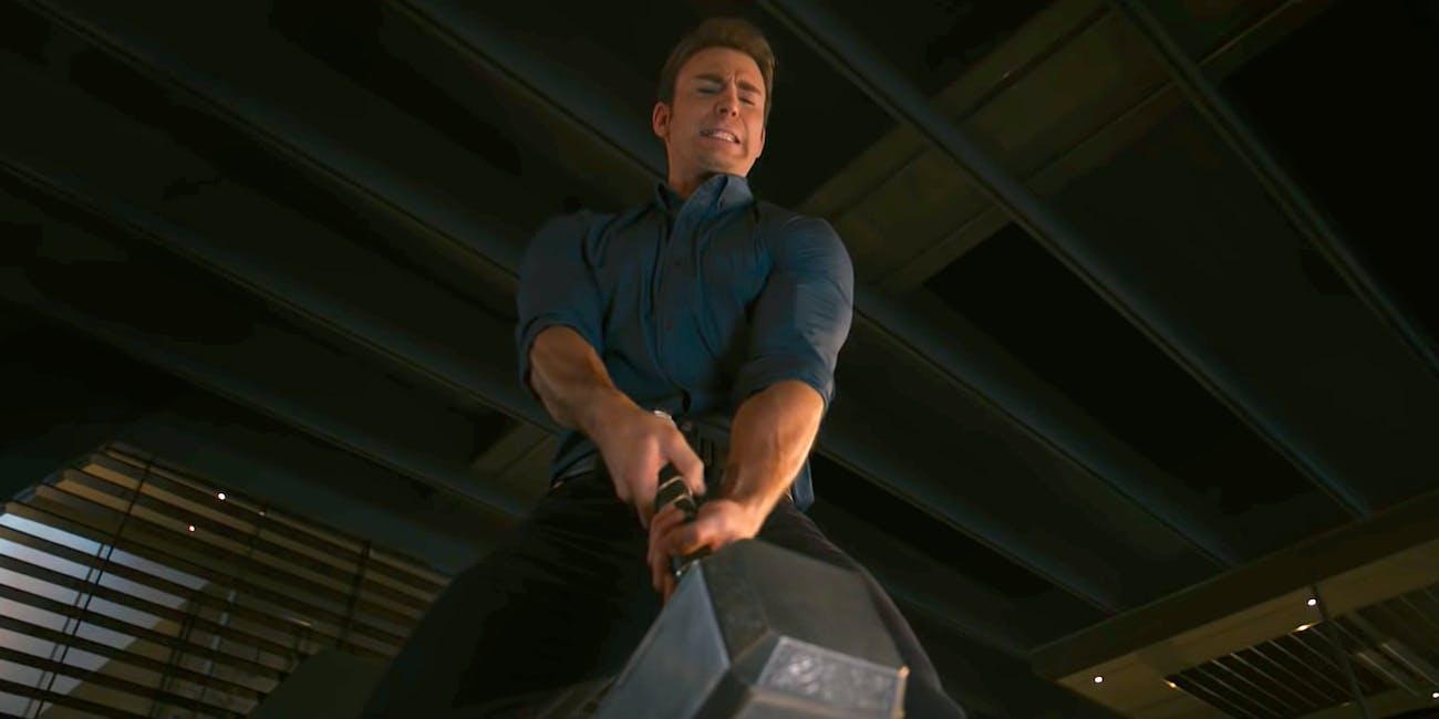 Chris Evans Captain America Marvel Endgame