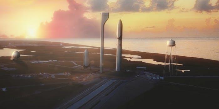 SpaceX Mars video