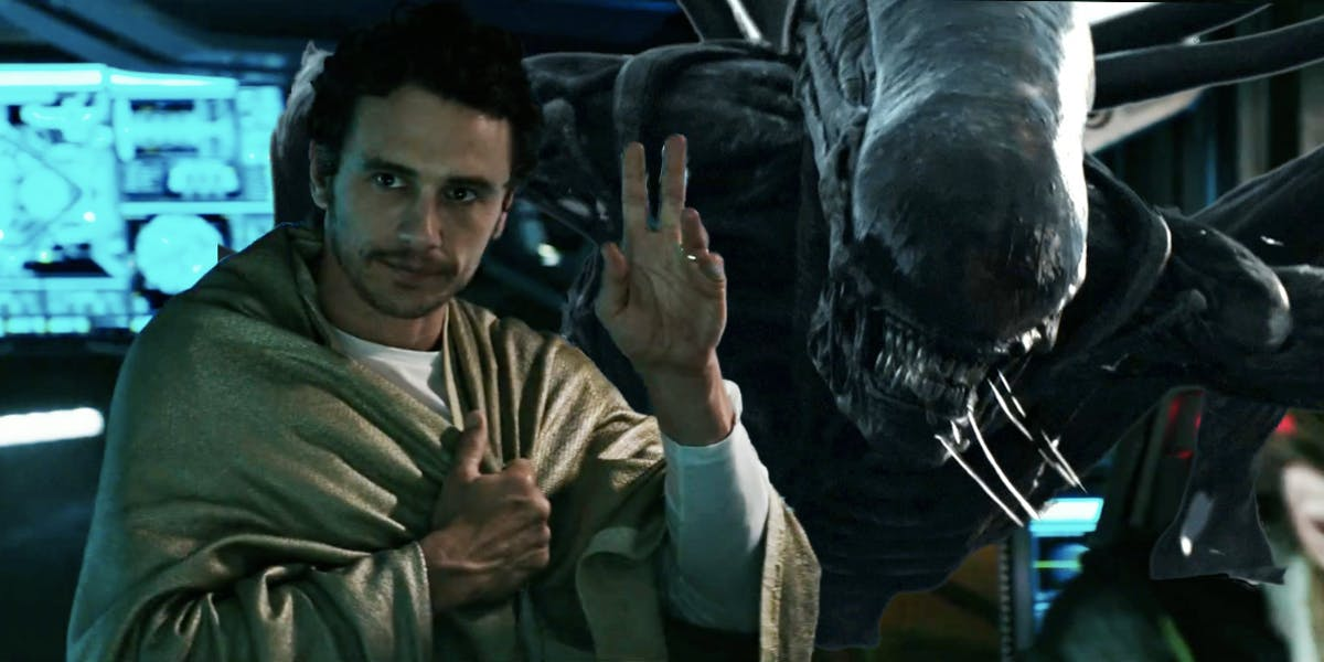 James Franco in 'Alien: Covenant'