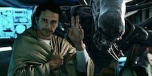 The Best 30 Seconds of 'Alien: Covenant' Star James Franco