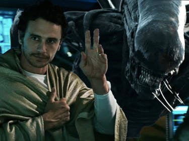 The Best 30 Seconds of 'Alien: Covenant' Star James Franco
