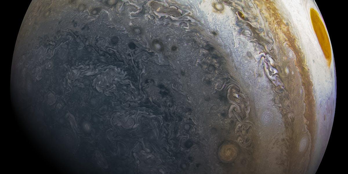 Jupiter from Juno's Perijove 12