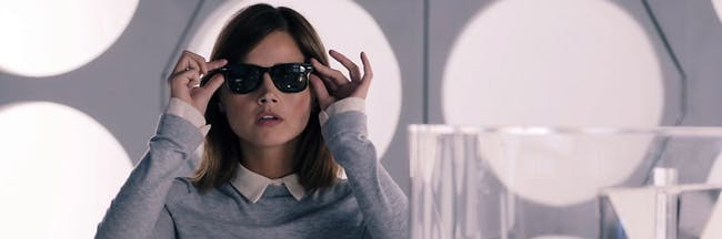 Clara in her own TARDIS with the Sonic Sunglasses might just return.