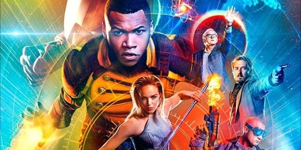 New Poster for the CW DC Show Legends of Tomorrow which includes Vixen and Citizen Steel