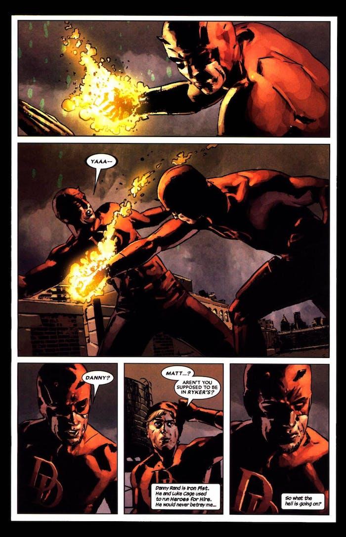 Daredevil Iron Fist
