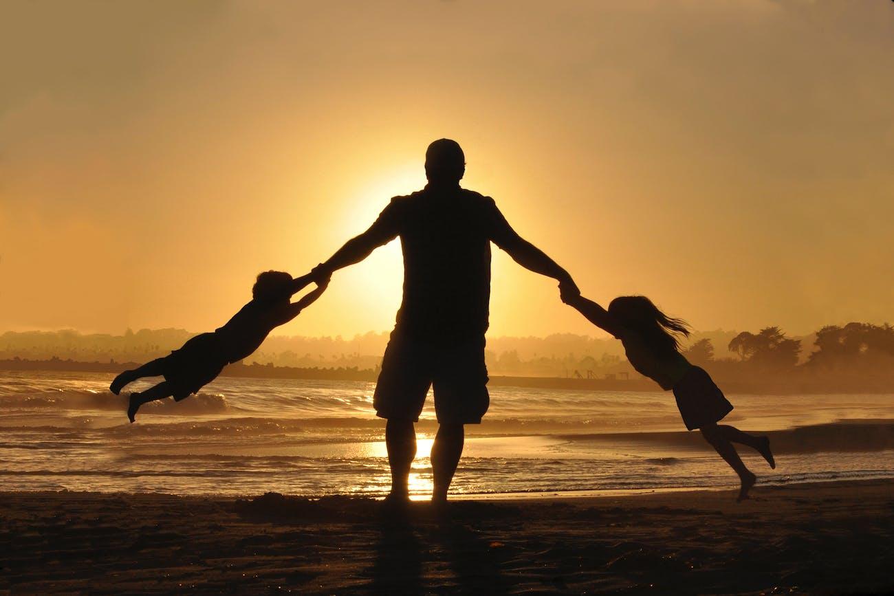 dad, children