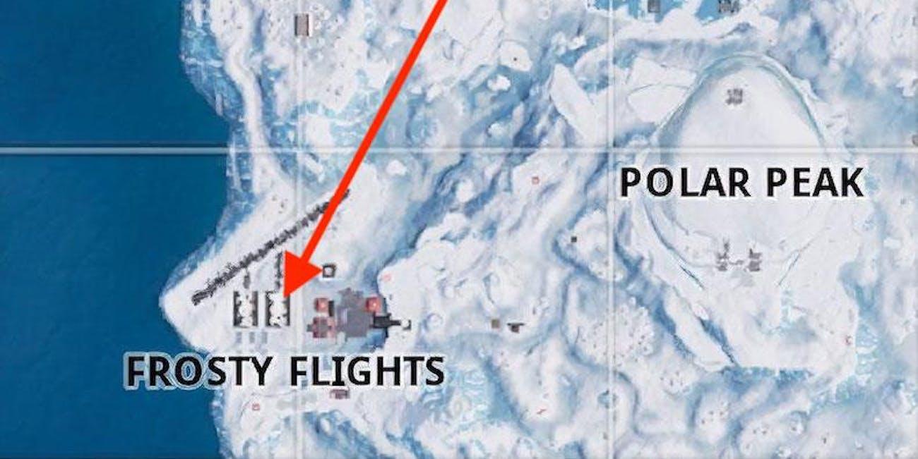 Fortnite Week 3 Snowfall secret battle star