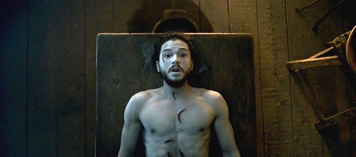 Kit Harington as Jon Snow in 'Game of Thrones'