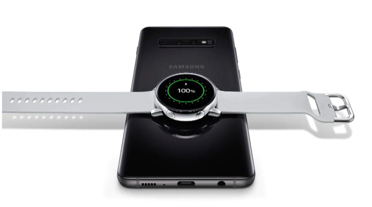 samsung galaxy watch active s10 wireless charging