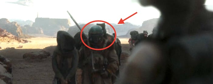 Is that Boba Fett's helmet? It's the right color!
