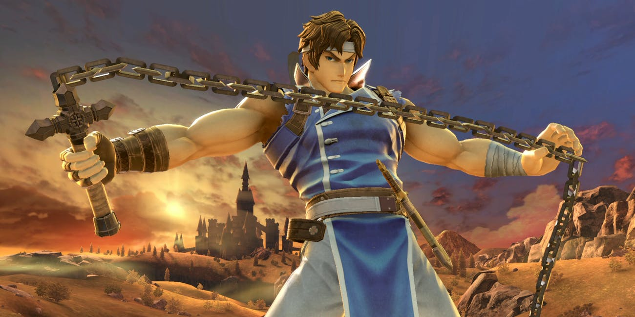 Super Smash Bros Ultimate Richter Belmont