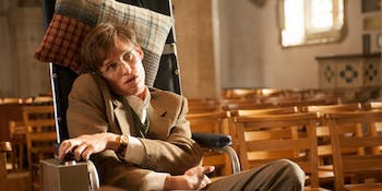 Eddie Redmayne as Stephen Hawking in 'The Theory of Everything'