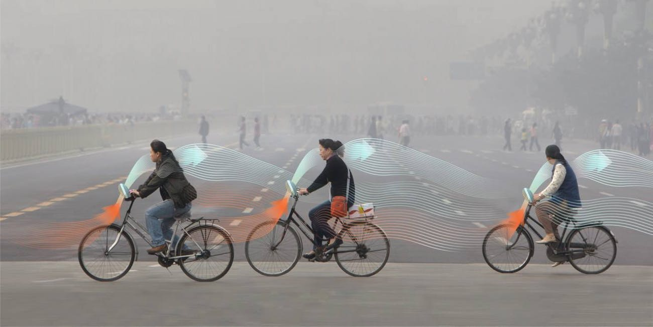 The Smog Free Bicycle concept