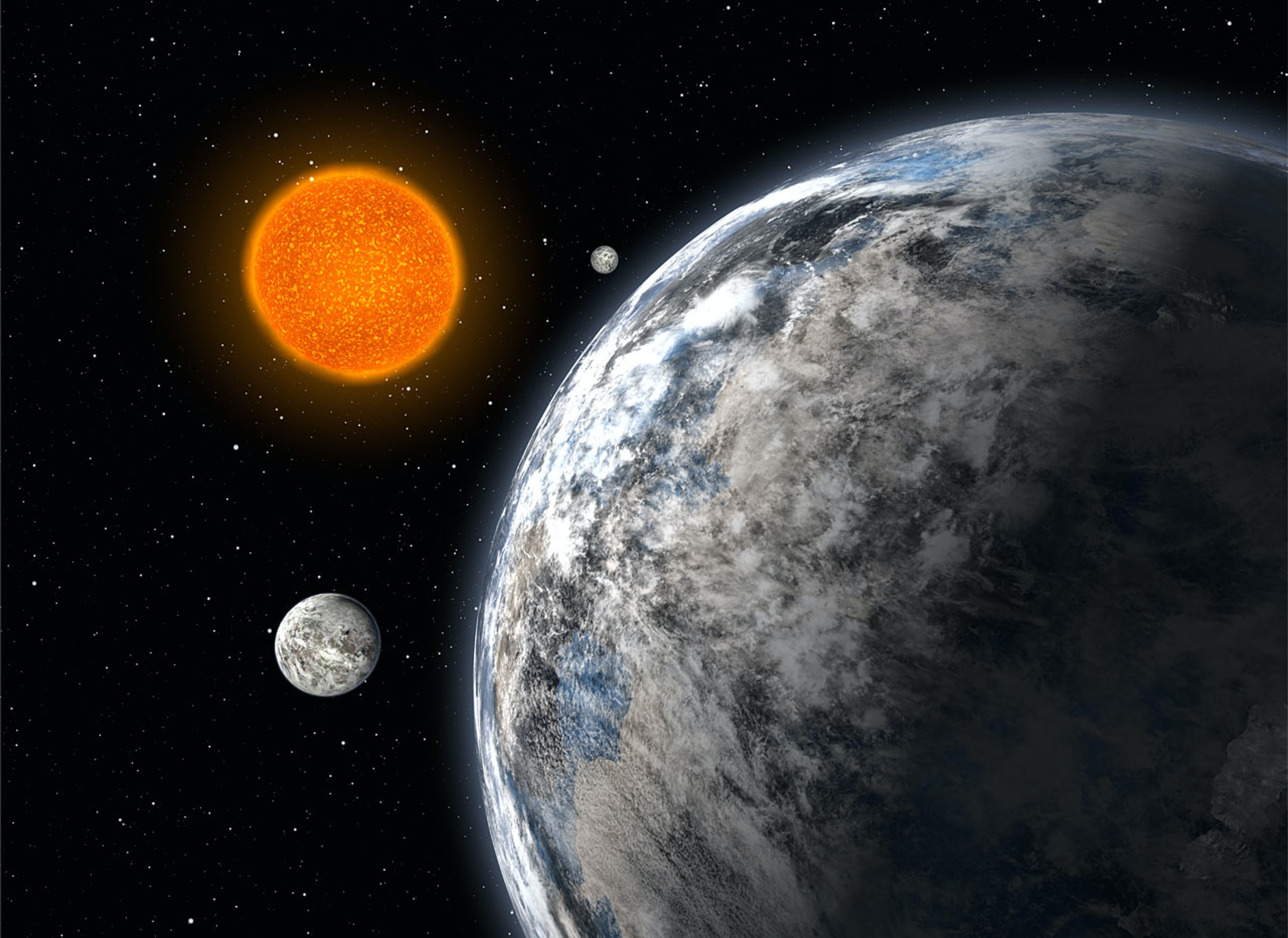Newly Discovered Super-Earth Give Clues On How Planets Form